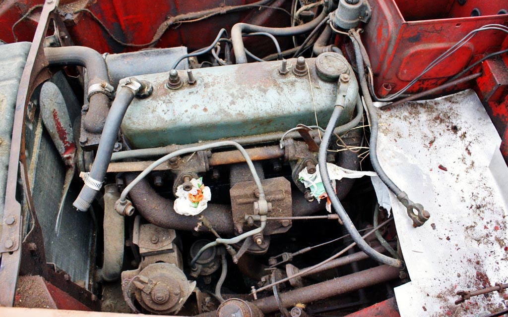Austin A90 Motor