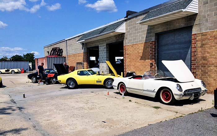 Cleaning the Max Corvettes
