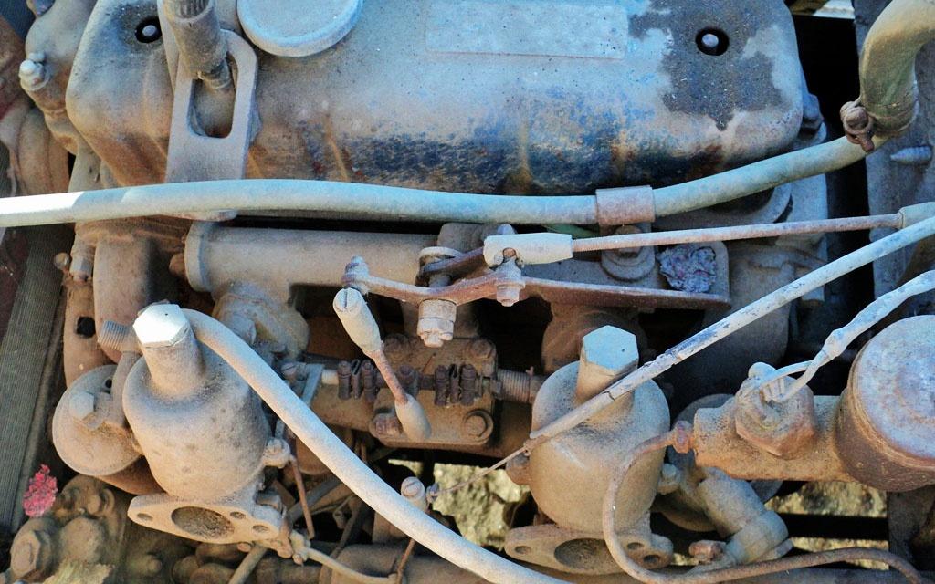 Datsun SPL212 Motor