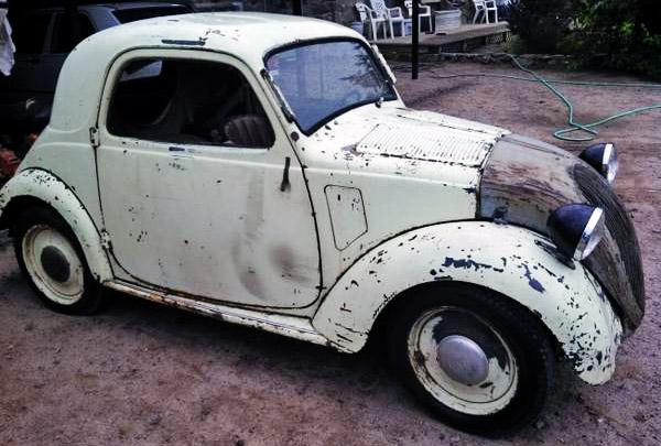 Italian Mouse 1947 Fiat Topolino