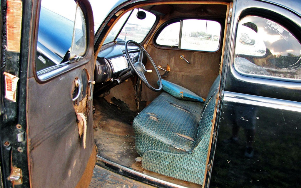 Ford Coupe Interior