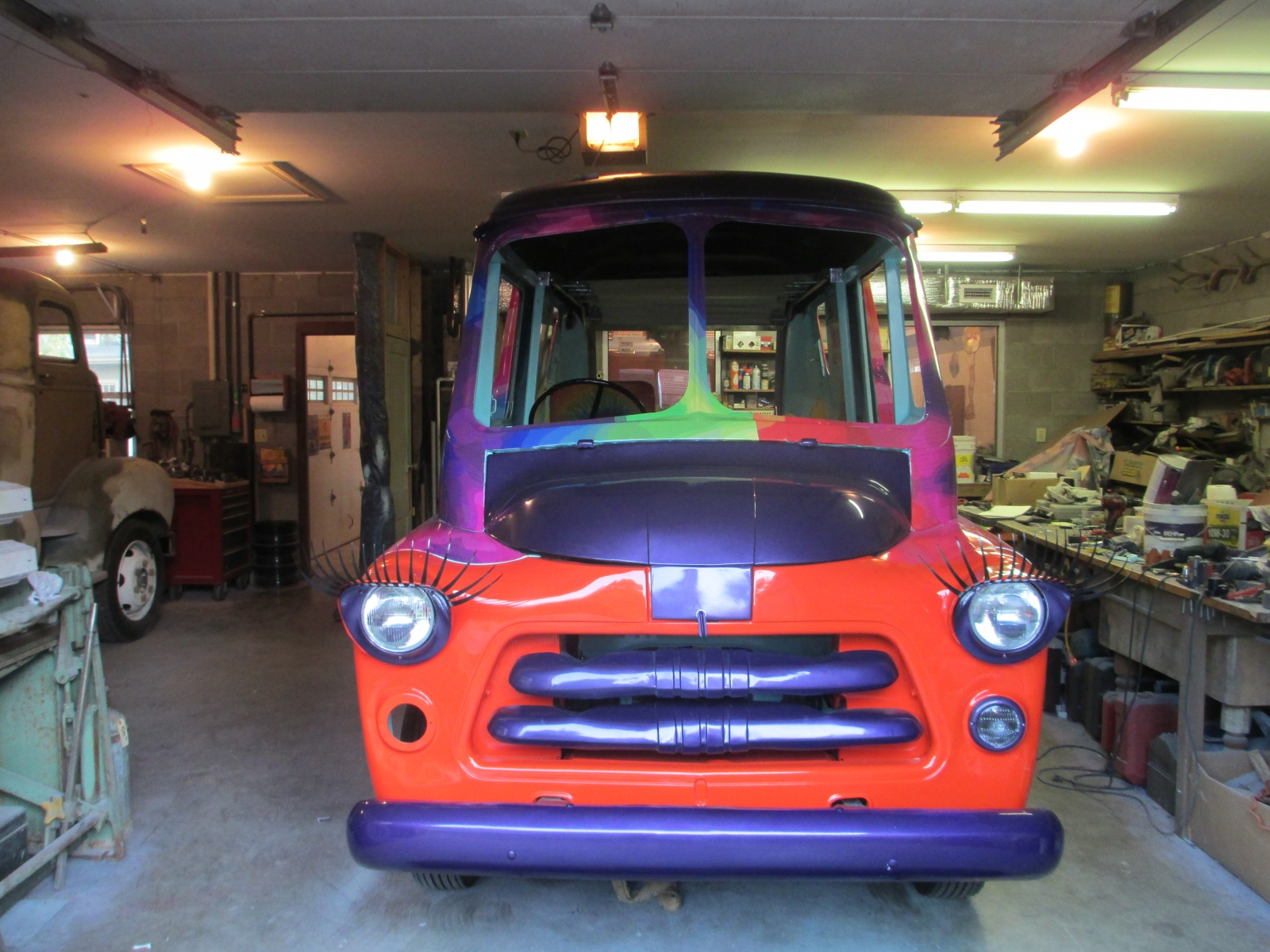 The Short Bus Dodge Postal Delivery Van 1949 Panel Here Is Front View