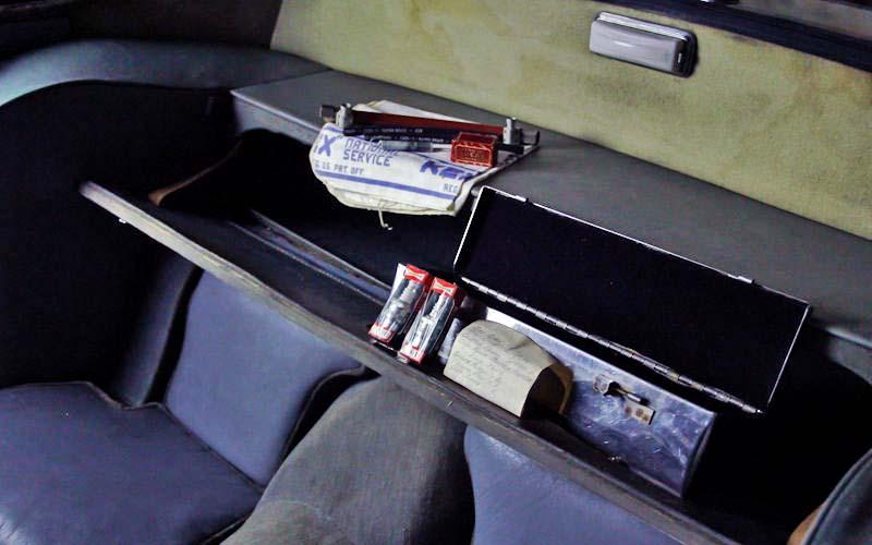 Jaguar XK150 parts box