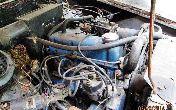 MG Midget Motor