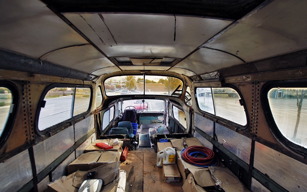 SceniCruiser Interior