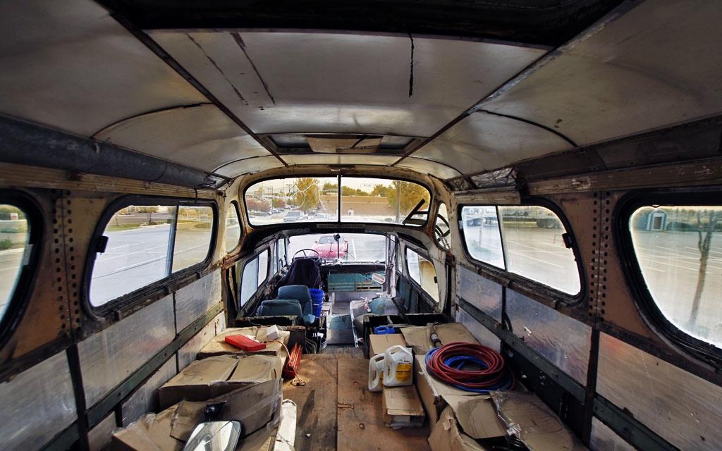 Steering Wheel Restoration >> The Bus Trip Of A Lifetime