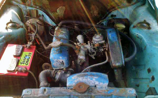Sunbeam Alpine GT Engine