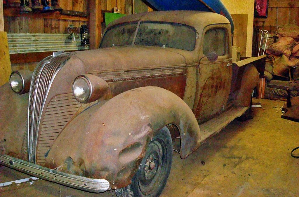 The Big Boy: 1937 Terraplane Pickup