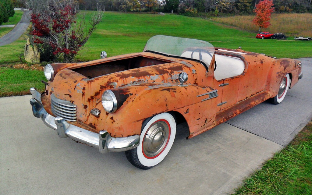 Lead Sled: 1941 Lincoln Custom