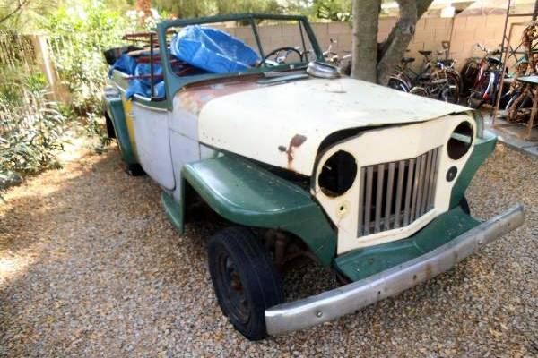 Possible Lightning Project 1949 Willys Jeepster