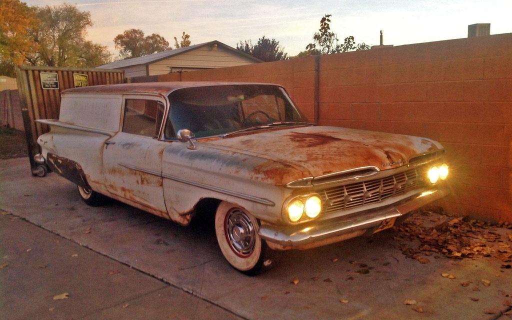 Parts Wagon: 1959 Chevy Sedan Delivery