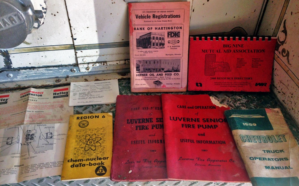 1959 Chevy Spartan Documents