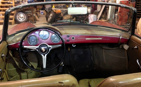 1960 porsche 356b the last barn find roadster. Black Bedroom Furniture Sets. Home Design Ideas