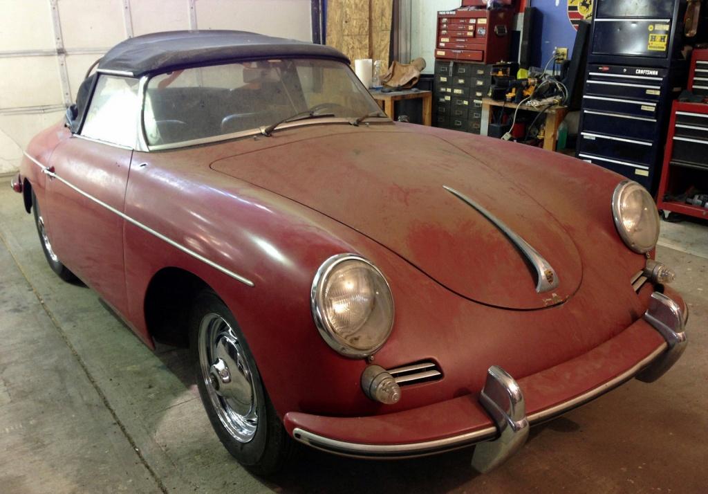 Porsches For Sale >> 1960 Porsche 356B - The Last Barn Find Roadster?