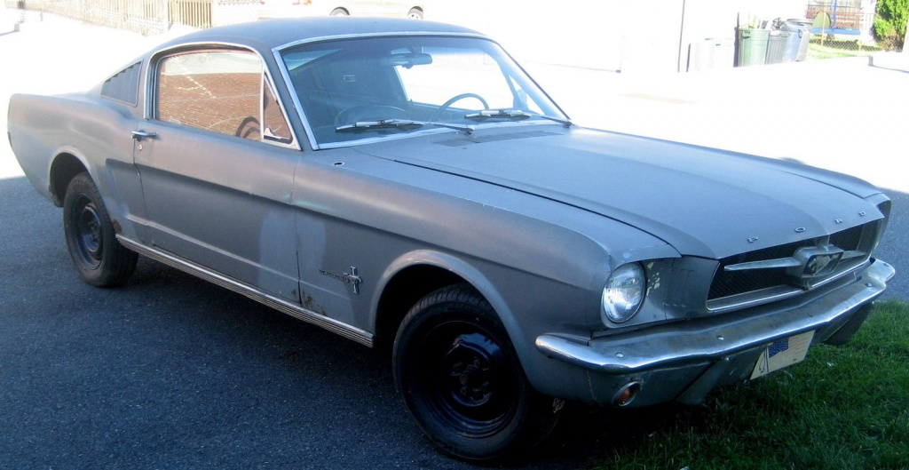 65 mustang fastback project for sale