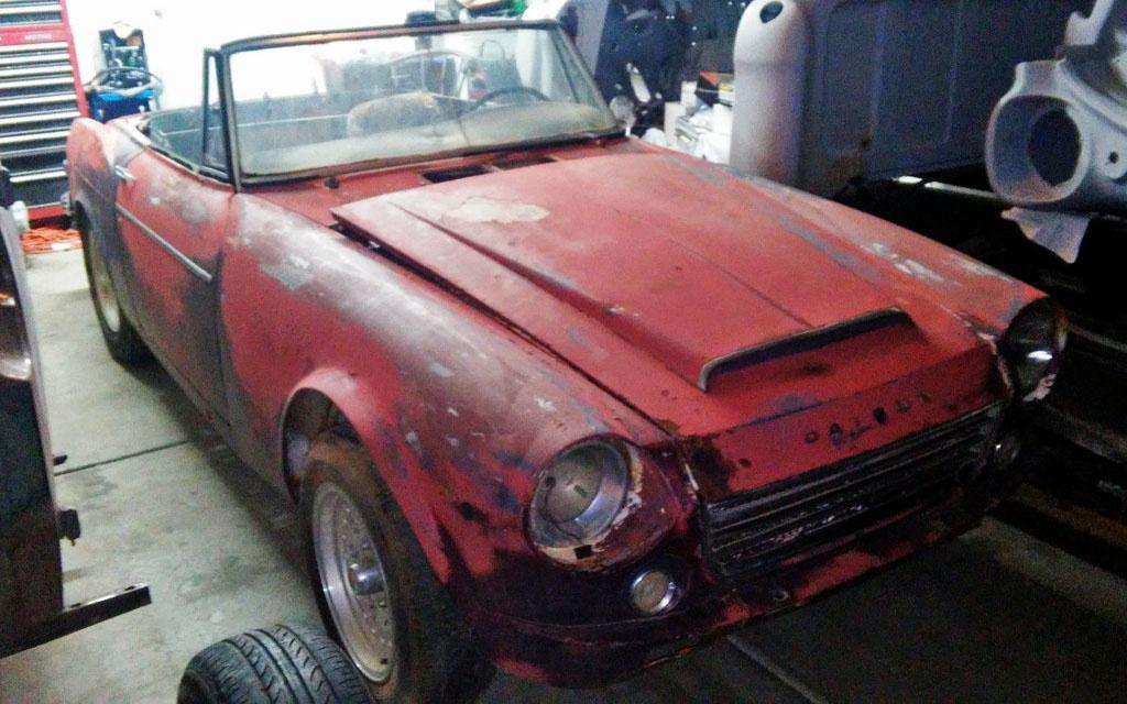 Desert Dry 1967 Datsun 1600