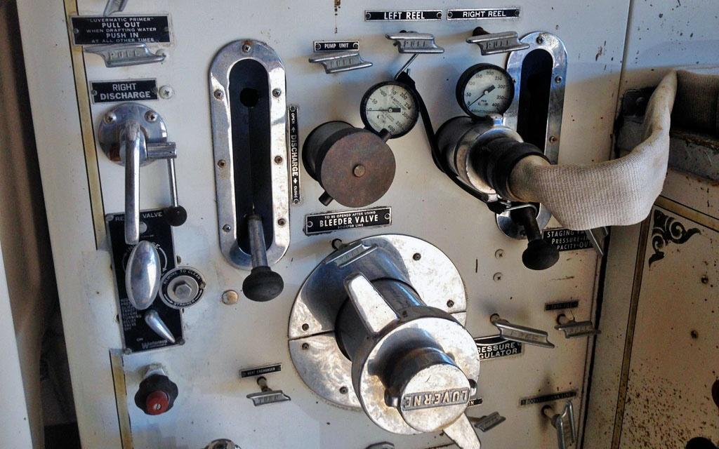 Chevy Spartan Engine Controls