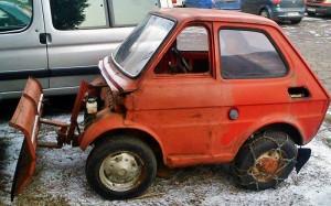 Micro Snow Plow