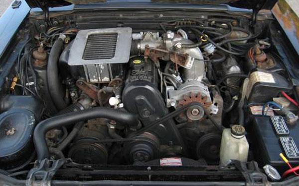 Mustang SVO Engine