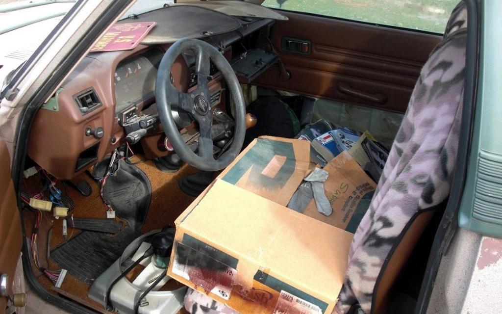 Subaru Brat interior
