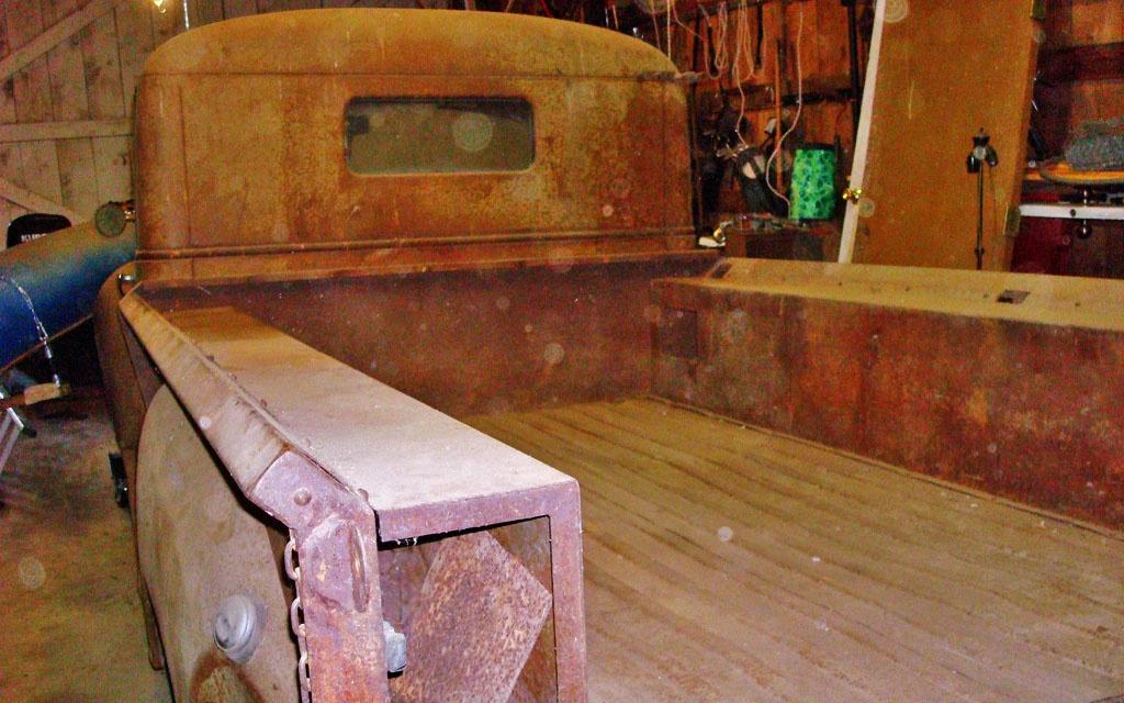 Terraplane Truck Bed