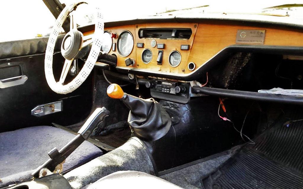 Triumph Spitfire Interior