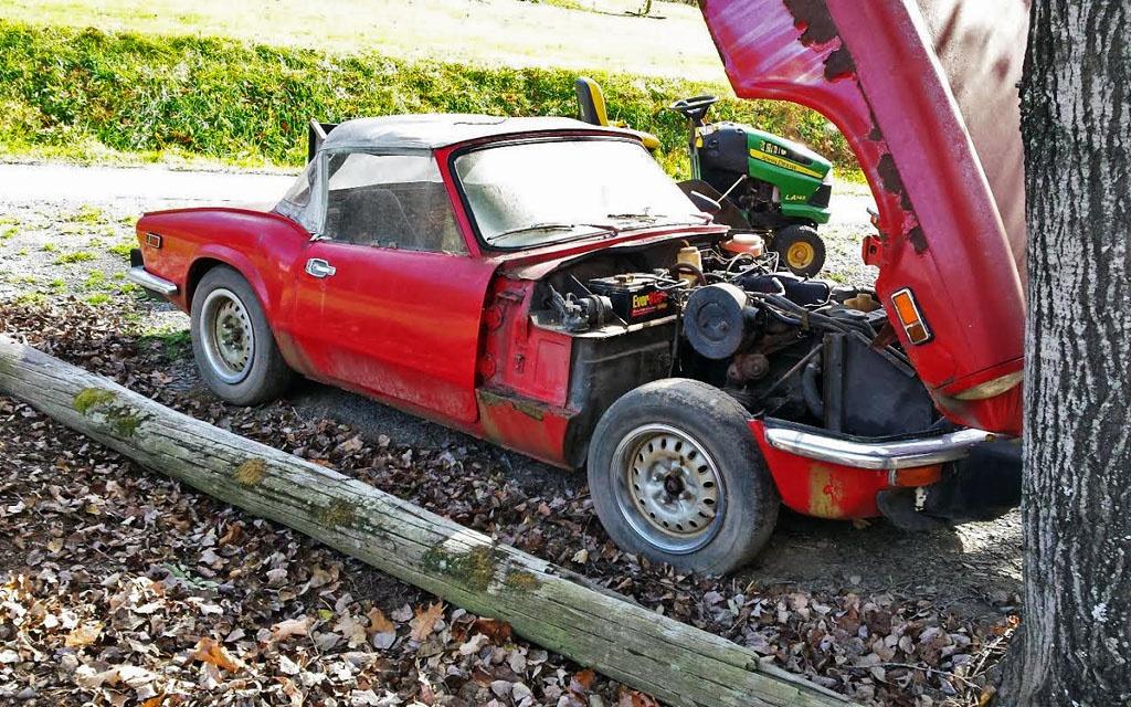 Triumph spitfire parts