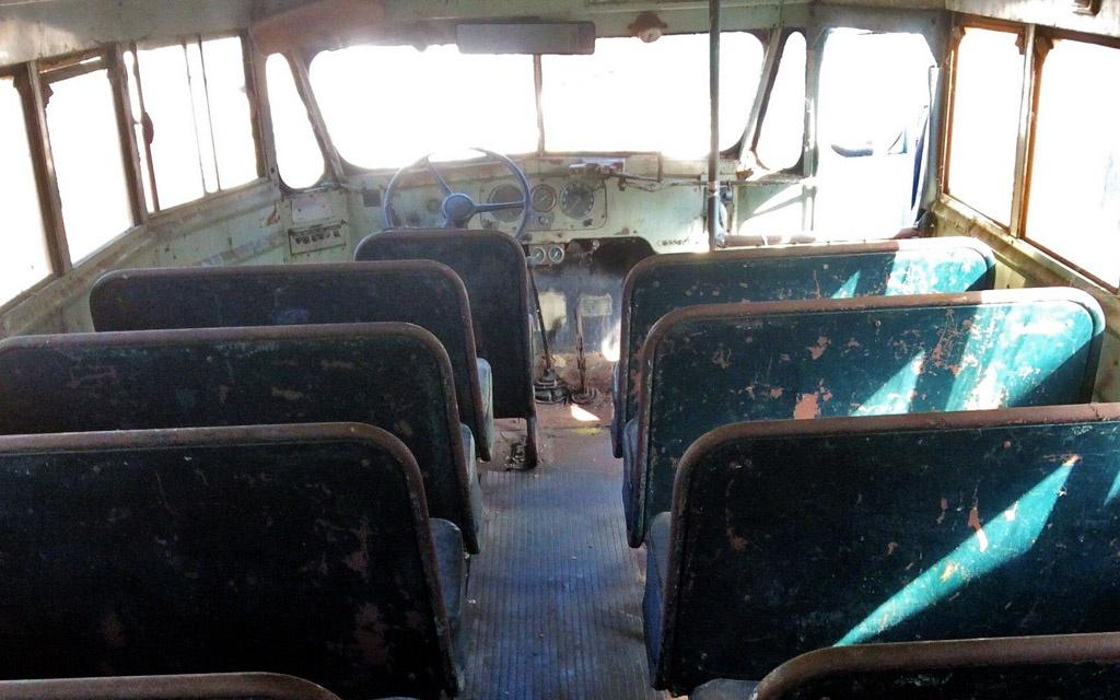 White Motors Bus Interior