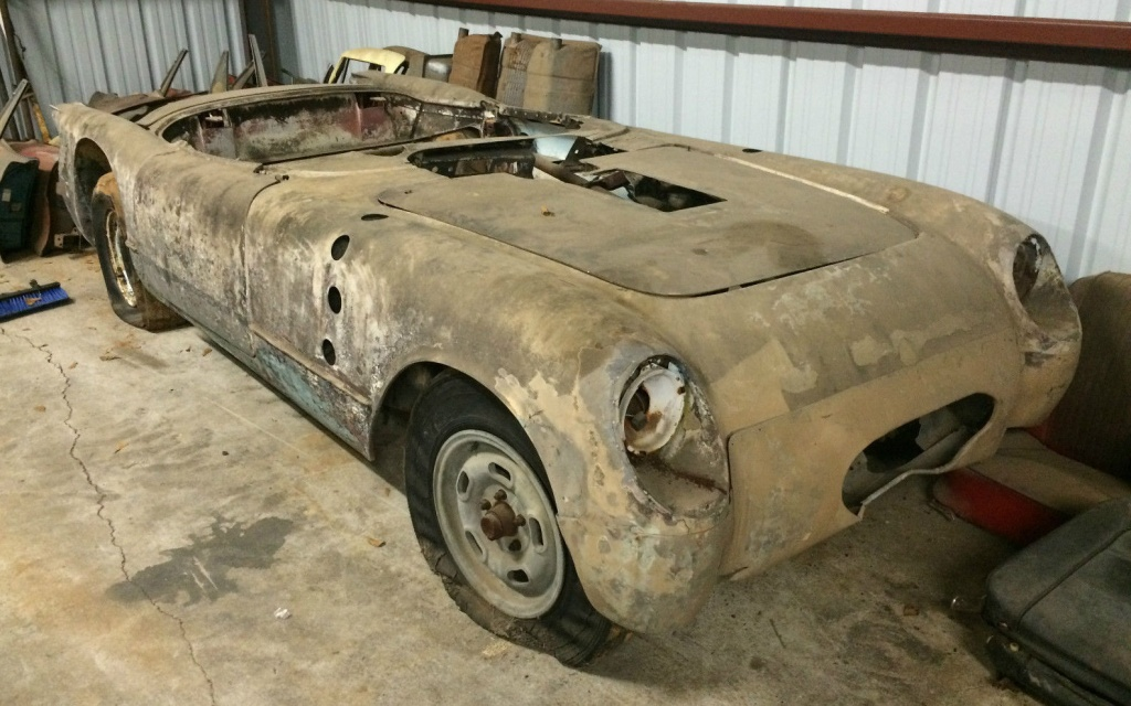 Corvette Barn Finds