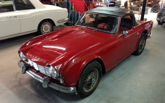Change of Pace: 1963 Triumph TR4