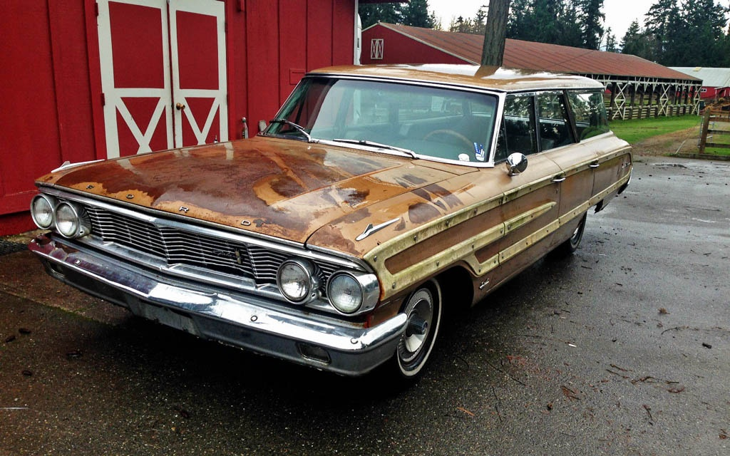 Galactic Wagon 1964 Ford Country Squire