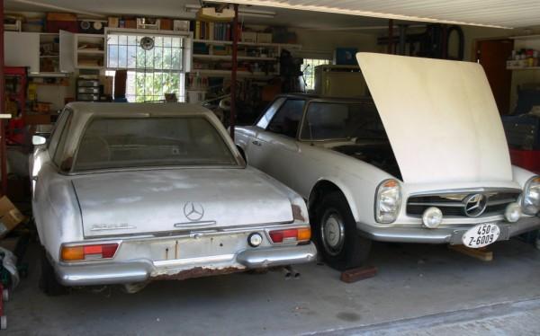 1964-mercedes-230sl-pair