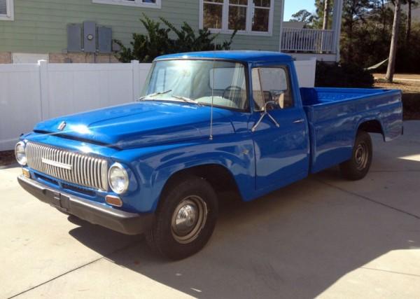 Ol' Blue: 1965 International D1100 Pickup