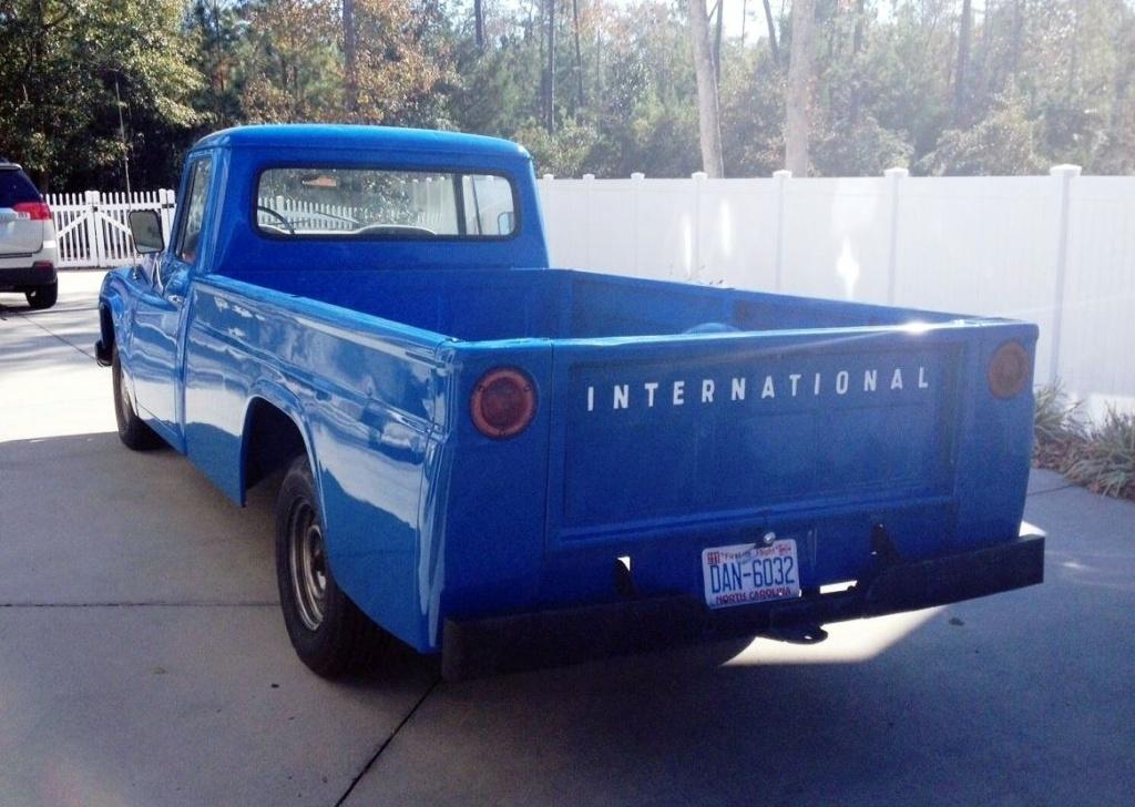 Ol Blue 1965 International D1100 Pickup