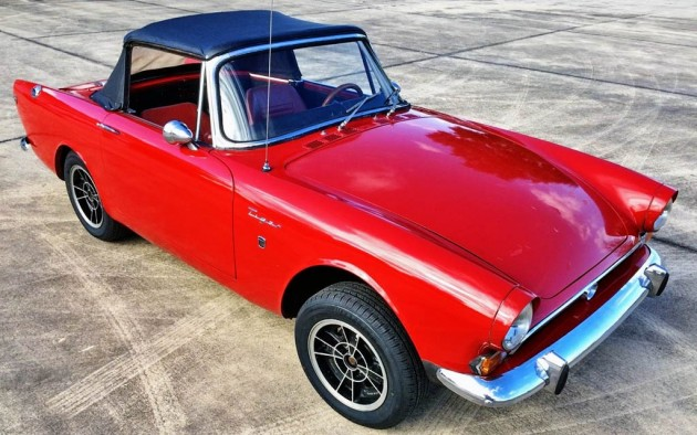Rare Cat: Mk 1 Sunbeam Tiger Project Car
