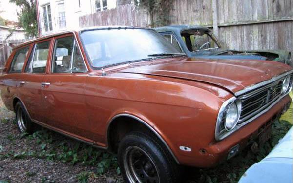 1969 Ford Cortina Estate