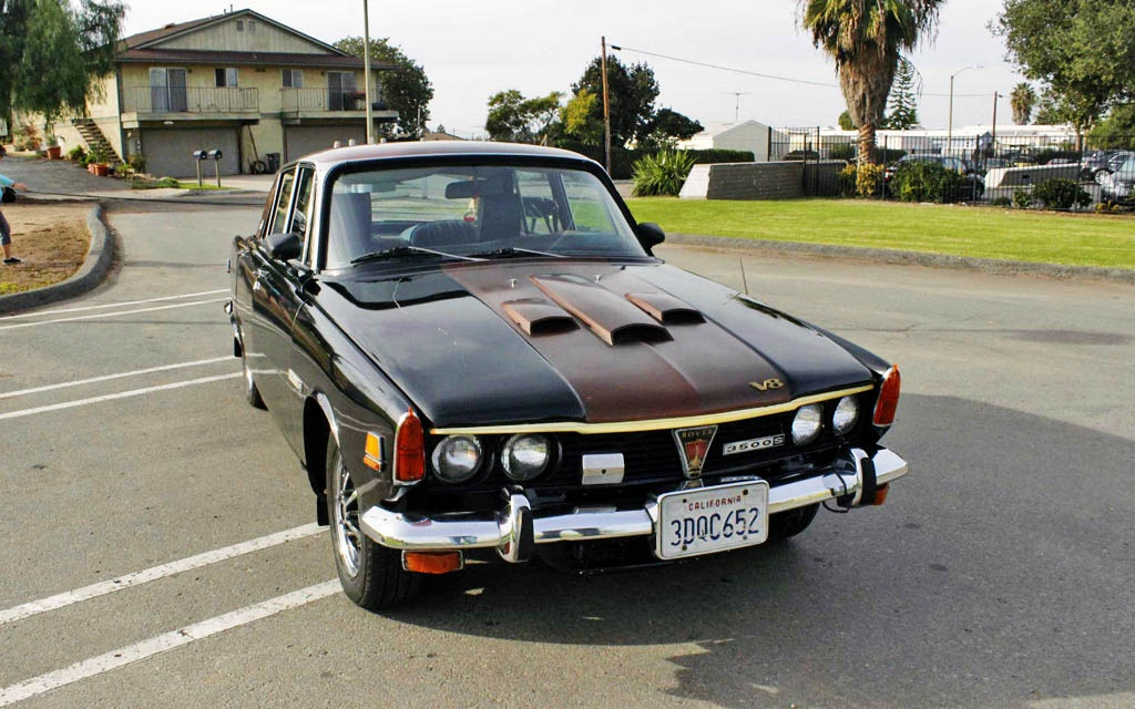 Could Ve Had A Turbine 1970 Rover P6