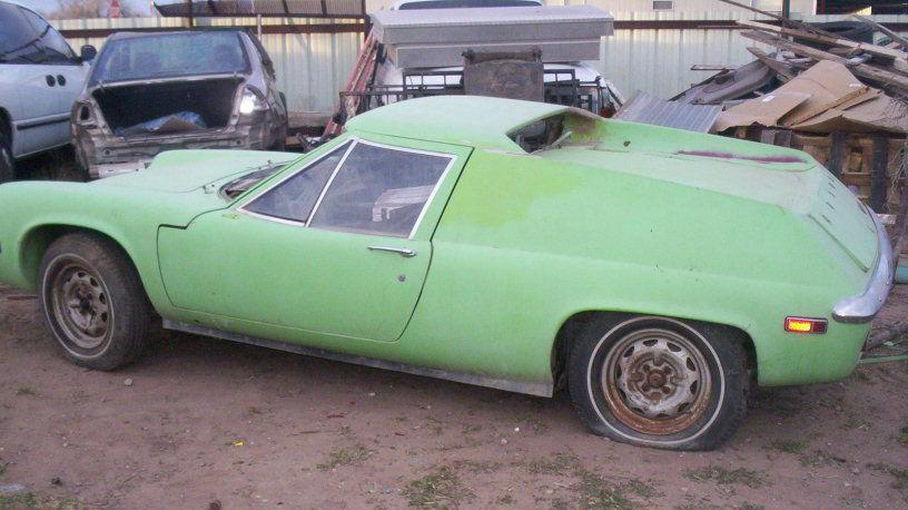 1971 Lotus Europa Worth Saving