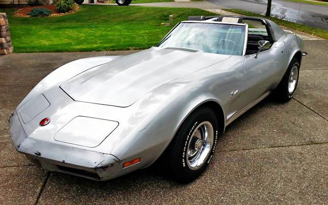 1973 Corvette Cleaned up