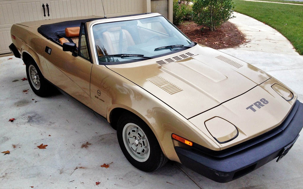 Yes You Could Have A V8 1980 Triumph Tr8