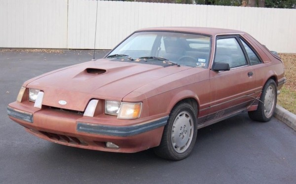 2014 Mustang For Sale >> Foreshadowing Four: 1984 Ford Mustang SVO