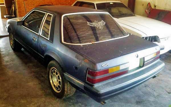 1986 Mustang SSP