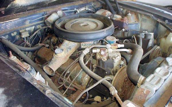 AMX Ram Air V8
