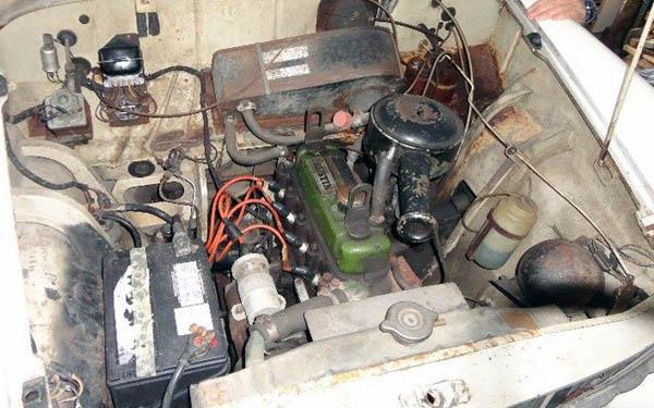 Austin A40 Engine