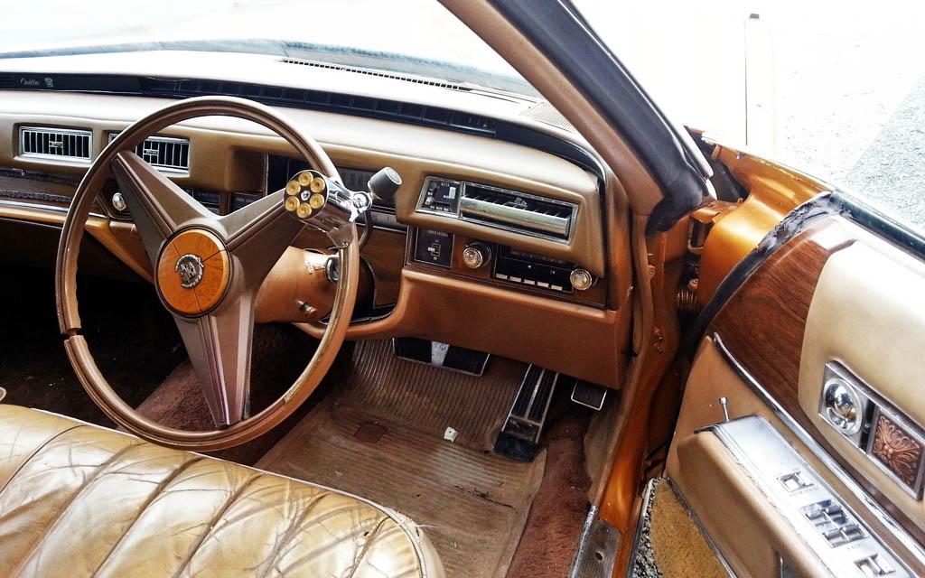 Cadillac Ute Interior