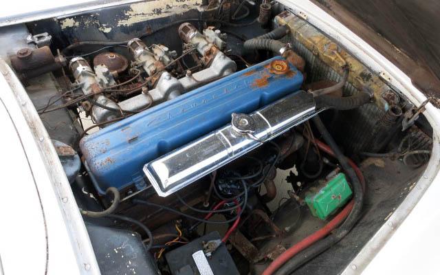 Corvette C1 Engine