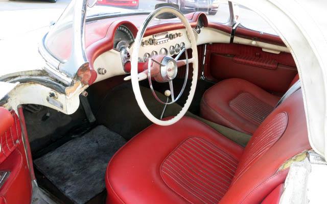 Corvette C1 Interior