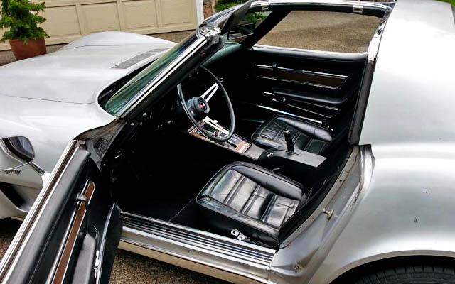 Corvette Interior Cleaned up