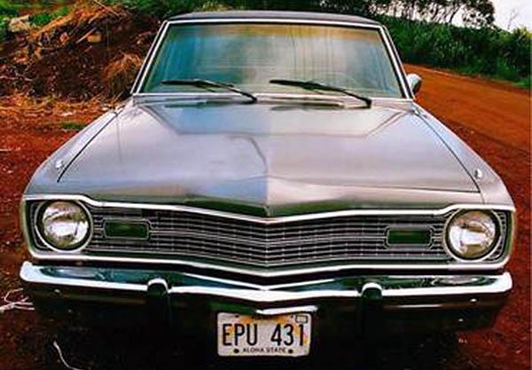 Craigslist Hawaii Oahu Cars: Only In Oahu: 1973 Dodge Dart Custom