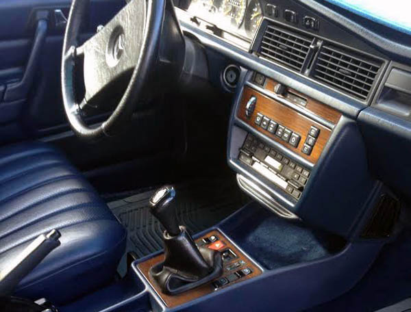 Mercedes 190E Interior